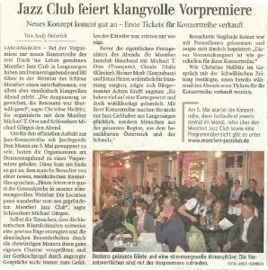 Schwäbische Zeitung vom 15.4.2016