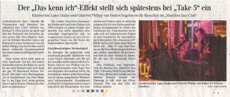 Schwäbische Zeitung vom 3.6.2016