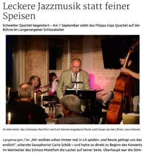 Schwäbische Zeitung vom 19.8.2016