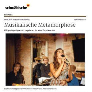 Schwäbische Zeitung vom 4.9.2016