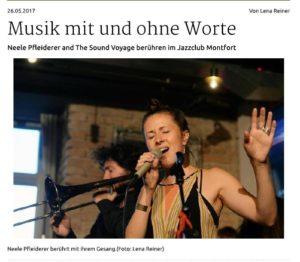 Schwäbische Zeitung vom 26.5.2017