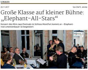 Schwäbische Zeitung 21.11.2017